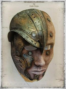 Warrior Wizard Mask by Diarment