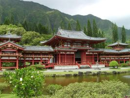 Byodo-In Temple by royco