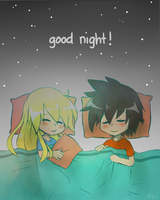 Good night! by yassui