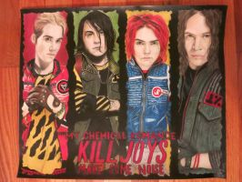 My Chemical Romance's Danger Days by ArtsyKD13