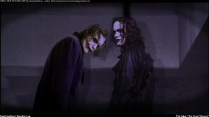 Clowns V2 (2) The Joker / The Crow by SexiestJoker