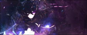 Black Rock Shooter Signature by Myelia