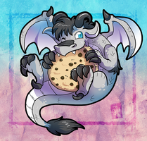 Commission - Dragon Cookie by raizy
