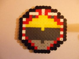 Red Falcon Bead Sprite by HyperForceGo