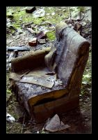 my armchair by c0nk3r