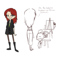 I've Come to Fill Your Brains with Art Knowledge by Khomaa