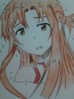 Asuna (Swords Art Online) by shinebrightlysmile