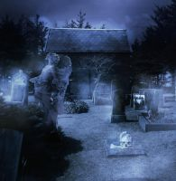 Graveyard by celairen-stock