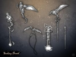 Grim Weapons by LaNiMaL