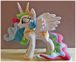 Princess Celestia Plushie by mamaapple