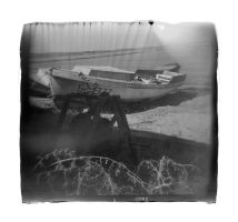 Boat With Some Machinery by Veniamin