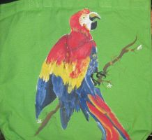 Parrot tote bag by originalceenote