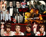 Panic! At The Disco collage by sunnybunny1199