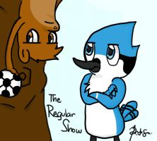 regular show:soccer by JellyMonstah