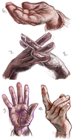 50H/50F Challenge: Hands 6-10 by TheElvishDevil