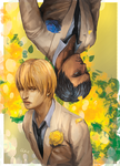 Aomine/Kise by Lhax