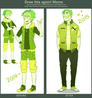 Before and After meme by SourBein