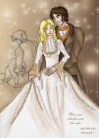 The Barber and His Wife by saki-guzman