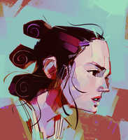 Rey-a-Day 72 by michaelfirman