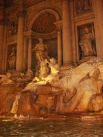 Fontana Di Trevi by 3ddream