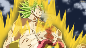 Broly the Legendary Super saiyan by zika-arts