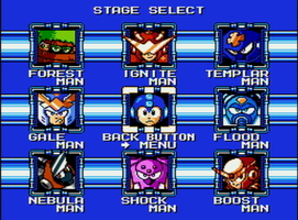 Mega Man Time Tangent - Stage Select by QuadeZaban