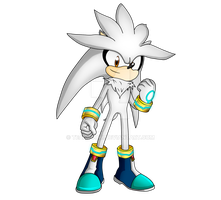 Silver The Hedgehog by Miruruko