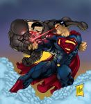 Superman vs. Zod by bigMdesign