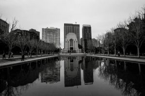 Hyde Park War Memorial by DanielleMiner