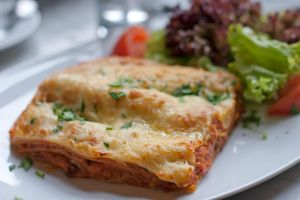 Lasagne lunch by patchow