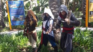 Wondercon 2014: Assassins Break the Fourth Wall by WesternSpice