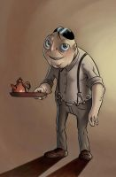 Innsmouth Hotel Keeper by Erymanthe