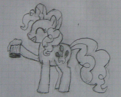 Pinkie Pie Drawing by RainbowTrixie