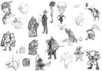 2005 old little sketches by gianmac