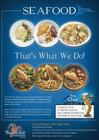 Thai Sea Food Restauratnt AD by Raheelali1234