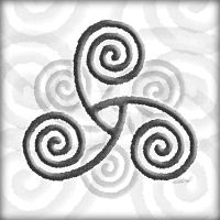 Celtic Triple Spiral by foxvox