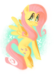 fluttershy by spacekitsch