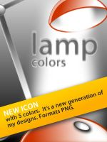 Lamp 5 colors by skingcito