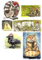 Holiday Tags by screwbald