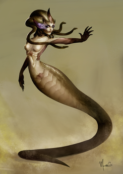 Medusa - Concept Art by mgarciam