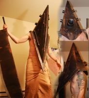 pyramid head cosplay by Stuartwebster