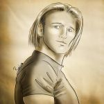 Heath Slater, traditional. by Roselyne777