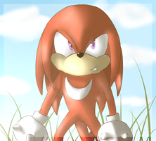 Knuckles The Echidna by JokerSyndrom