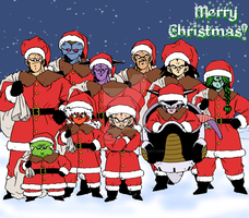 DBZ: Wishing You an Evil Xmas by Weasley-Detectives