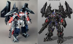 Custom Power Up Prime compare by Unicron9