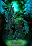 Changeling Queen by GreyRadian