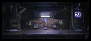 Subway Station by dadmad