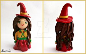 Yule Witch Chibi by Rhiannon-San