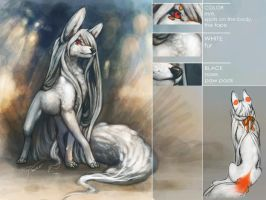 Wite Fox reference by REYKAT