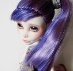 Belladonna - Custom OOAK Monster High Doll Spectra by hellohappycrafts